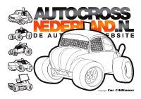 Kleurplaten Autocross.Autocross Kleurplaten Kerst 2018